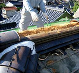 練り土が用いられる台土部